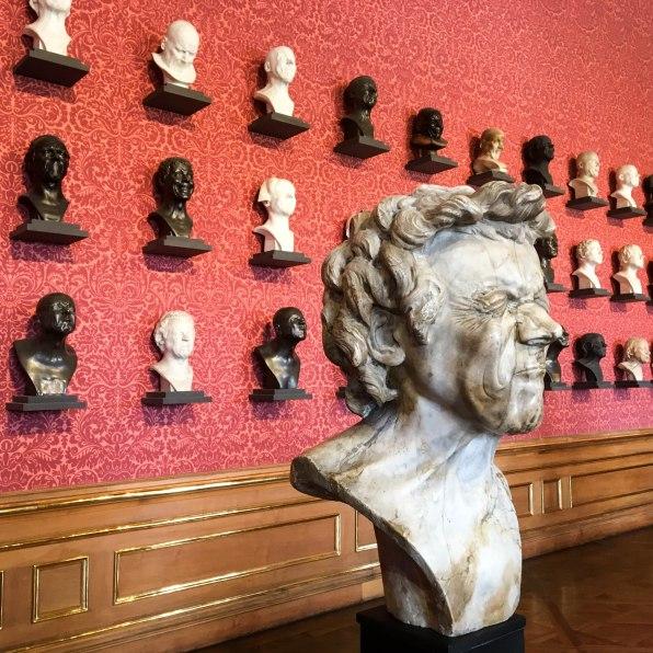 Franz Xaver Messerschmidt, Character heads series