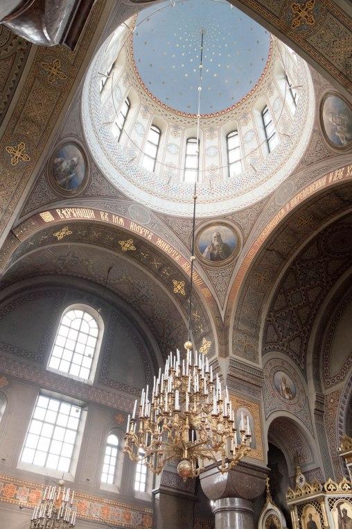Uspenski Cathedral interior