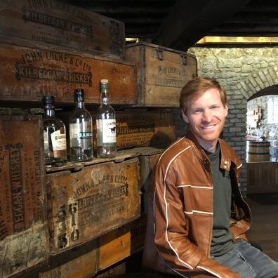 Kilbeggan Distillery tasting room