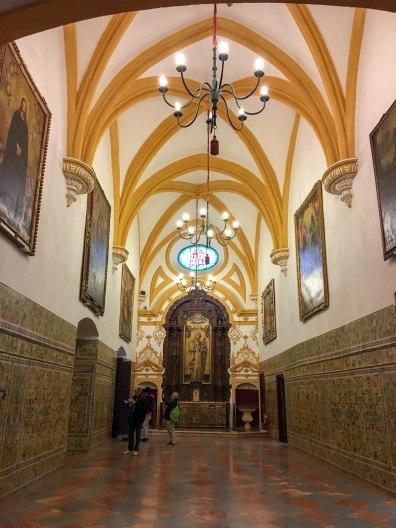 Sala de las Bóvedas in Gothic Palace