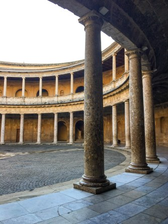 Courtyard of the Palace of Charles V